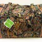 Vera Bradley Large Duffel Kensington carryon weekend overnight  NWT Retired