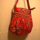 Vera Bradley Hannah small handbag Frankly Scarlet girls purse evening bag tech case NWT Retired