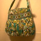 Vera Bradley Hannah small purse handbag evening clutch girls Peacock  NWT Retired
