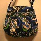 Vera Bradley Hannah small purse handbag evening clutch Mediterranean Blue  NWT Retired girls