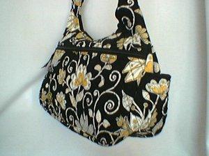Vera Bradley Yellow Bird Cargo Sling � handbag  crossbody hobo purse diaper NWT Retired
