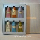 Crabtree Evelyn Hand Therapy Sampler Gift  6 x 0.9 oz / 25 ml Citron Gardener Source Summer purse