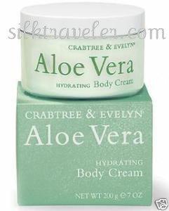 Crabtree Evelyn Aloe Vera hydrating Body Cream   Disc'd  7 oz.  FS