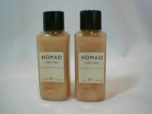 Crabtree Evelyn Hair Conditioner Nomad Travel size x 2  mens toiletries NOS