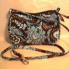Vera Bradley Java Blue Amy crossbody convertible hipster  • swing bag girls purse   pre-owned