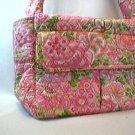 Vera Bradley Carryall diaper satchel crossbody handbag tote   Petal Pink   Retired, pre-owned  Mint