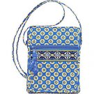 Vera Bradley Mini Hipster Riviera Blue • crossbody swing bag organizer wallet purse  NWT Retired