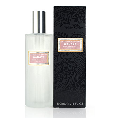 Crabtree Evelyn Room Spray Wakaya Home Fragrance   coconut teak frangipani Disc HTF