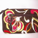 Vera Bradley Zip Around Wallet Puccini  NWT Retired - clutch wristlet organizer