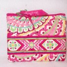 Vera Bradley Coin Purse ID credit card case wallet PDA Capri Melon NWT Retired