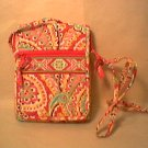 Vera Bradley Mini Hipster Capri Melon  purse crossbody swing bag  EUC Retired