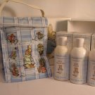 Crabtree Evelyn Tom Kitten Gift box  Baby Wash Shampoo Lotion Lunch Tote  Retired One of a kind