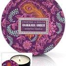 Crabtree Evelyn Travel Candle Anakkara Amber X2  Vanilla, Cardamom