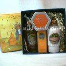 L occitane Orange Giftbox Bath Gel Body Mist EDC Pumpkin Chestnut candle -  Disc  l'oranger