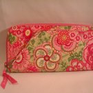 Vera Bradley  Travel Organizer passport zip around wallet Petal Pink  clutch  NWT Retired