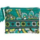 Vera Bradley Coin Purse Peacock NWT Retired ID credit card case
