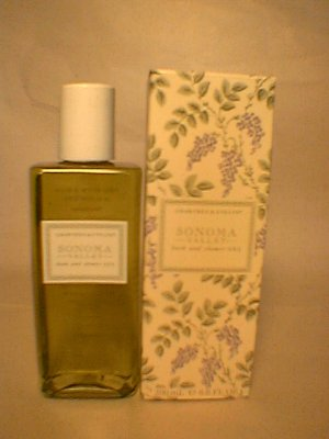 Crabtree Evelyn Sonoma Valley Bath & Shower Gel   6.8 oz  Boxed