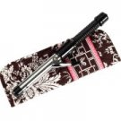 Vera Bradley Curling Flat Iron brush Cover  • Imperial Toile   travel NWT Retired