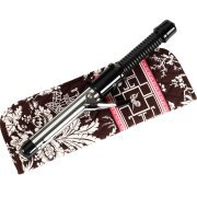 Vera Bradley Curling Flat Iron brush Cover  � Imperial Toile   travel NWT Retired