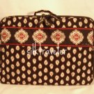 Vera Bradley Little Travel Case  Classic  Black game craft case tote - retired HTF NWOT