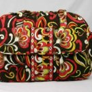 Vera Bradley Baby Bag Puccini • diaper bag overnight weekend  NWT Retired changing pad