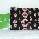 Vera Bradley Pocket Wallet Classic Black    Retired NWT    coin  ID case trifold