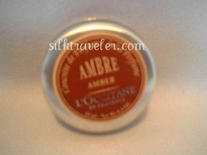L occitane Amber Solid Perfume original Ambre Concreta de Parfum FS  Very Rare 0.3 oz. 10 ml