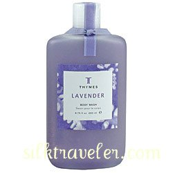 Thymes Body Wash Lavender X2 Shower Gel  clary sage rosewood NOS