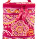 Vera Bradley Cool Keeper Rasberry Fizz NWT Retired insulated bottle travel cosmetic lunch tote •