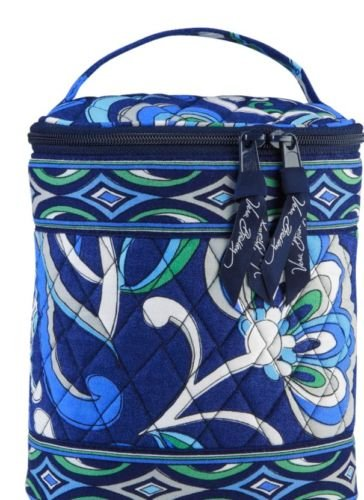 Vera Bradley Cool Keeper Mediterranean Blue retired NWT bottle tote travel cosmetic lunch bag �