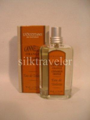 L occitane Cinnamon Orange EDT 1.7 oz 50 ml  Original HTF Cannelle Eau de Toilette perfume