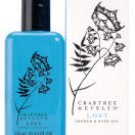 Crabtree Evelyn Bath Shower Gel X2 LOST  8.5 oz each Ginger Flower & Peach with amber Bath Shower