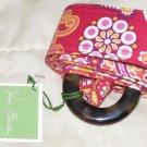 Vera Bradley Reversible Belt in Rasberry Fizz   NWT Retired  hatband  sash