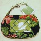 Vera Bradley Clip Zip ID Case Botanica   coin gym wallet credit card case NWT Retired