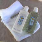 Crabtree Evelyn Cayman Winds Gift Bath Gel, Lotion, Terry Mitt  or glove discontinued