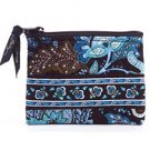 Vera Bradley Coin Purse Java Blue -  id credit card wallet   NWT retired