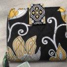 Vera Bradley Mini Zip Wallet ID card coin case Yellow Bird • NWT Retired HTF zip around