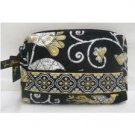 Very Bradley Small Cosmetic case Yellow Bird travel cosmetic  makeup bag NWT Retired