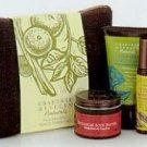 Crabtree Evelyn Nourishing Travel Essentials 5 Pc. Kit  Naturals bath butter mist