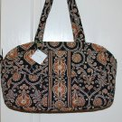 Vera Bradley Baby Bag diaper tote Caffe Latte NWT Retired  weekend overnight