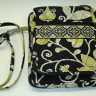 Vera Bradley Mini Hipster crossbody organizer wallet Yellow Bird • purse swing bag  NWT Retired