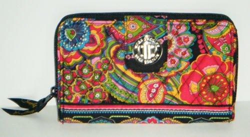 Vera Bradley Turn lock Wallet Symphony in Hue NWT Retired turnlock ultimate wallet
