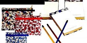 Carolina Herrera TRAVEL BAG + JOURNAL SET    Target  Neiman-Marcus  9pc   makeup iPad kindle Gift FS