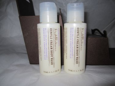 Crabtree Evelyn Aromatherapy Distillations Creamy Body Wash X2 travel 1.7 oz Lavender Vanilla FS