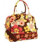 Vera Bradley Metropolitan laptop travel bag Buttercup  • carry-on weekender satchel trolley sleeve