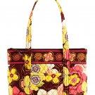 Vera Bradley Betsy purse tote handbag Buttercup  Retired