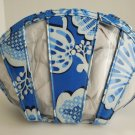 Vera Bradley Little Seashell travel cosmetic case Blue Lagoon  NWT Retired