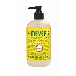 Mrs Meyers Clean Day Liquid Hand Soap Honeysuckle x TWO 12.5 oz pump bottles FS