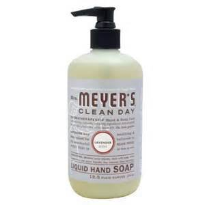 Mrs Meyers Clean Day Liquid Hand Soap Lavender TWO 12.5 oz pump bottles FS