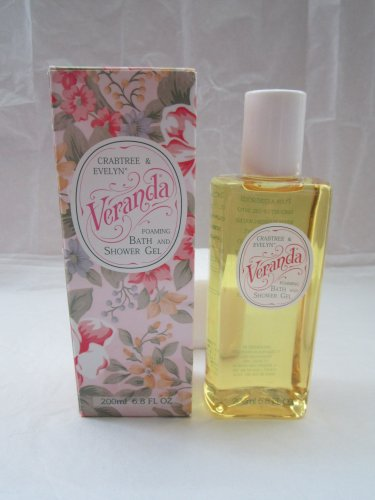 Crabtree Evelyn foaming Bath & Shower Gel 200 ml 6.8 oz. Retired Veranda